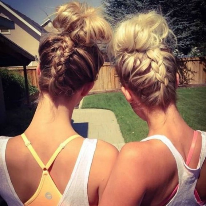 prakticne frizure koje mozete nositi na treningu 5 Praktične frizure koje možete nositi na treningu