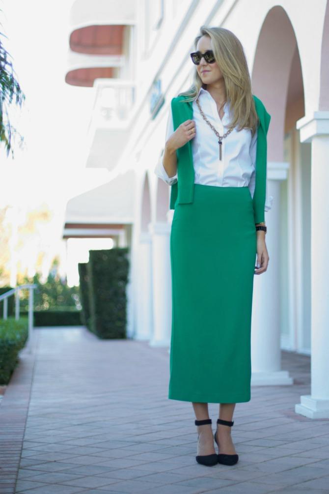 suknja 2 6 sjajnih načina kako da kombinuješ pencil suknju