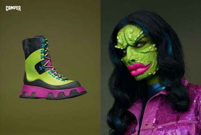 AW16 Camper Dino Woman Avatari glavne zvezde Camperove  jesenje kampanje