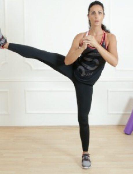 Budi fit: 5 efikasnih vežbi koje možeš da uradiš sama, 2. deo (VIDEO)