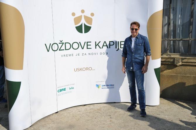 GORDAN KICIC Dragan Bjelogrlić predstavio svoj novi umetnički projekat