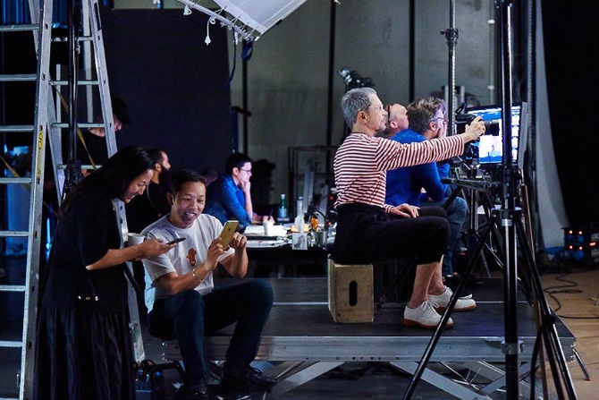 HM KENZO Jean Paul 015 B sRGB 72dpi 1 Slavni Žan Pol Gude zvanični fotograf kampanje KENZO x H&M