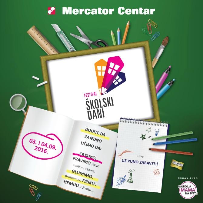 Instagram Mama Festival Mercator 1080x1080 Učimo korisne stvari na zanimljiv način samo na festivalu Školski dani
