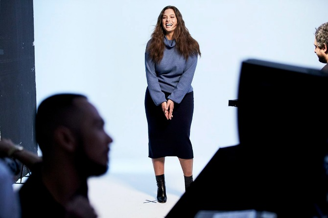 Jesenje modne heroine iza scene 2 Ekskluzivni intervju: Ešli Grejem, plus size model i lice nove Lindex kampanje