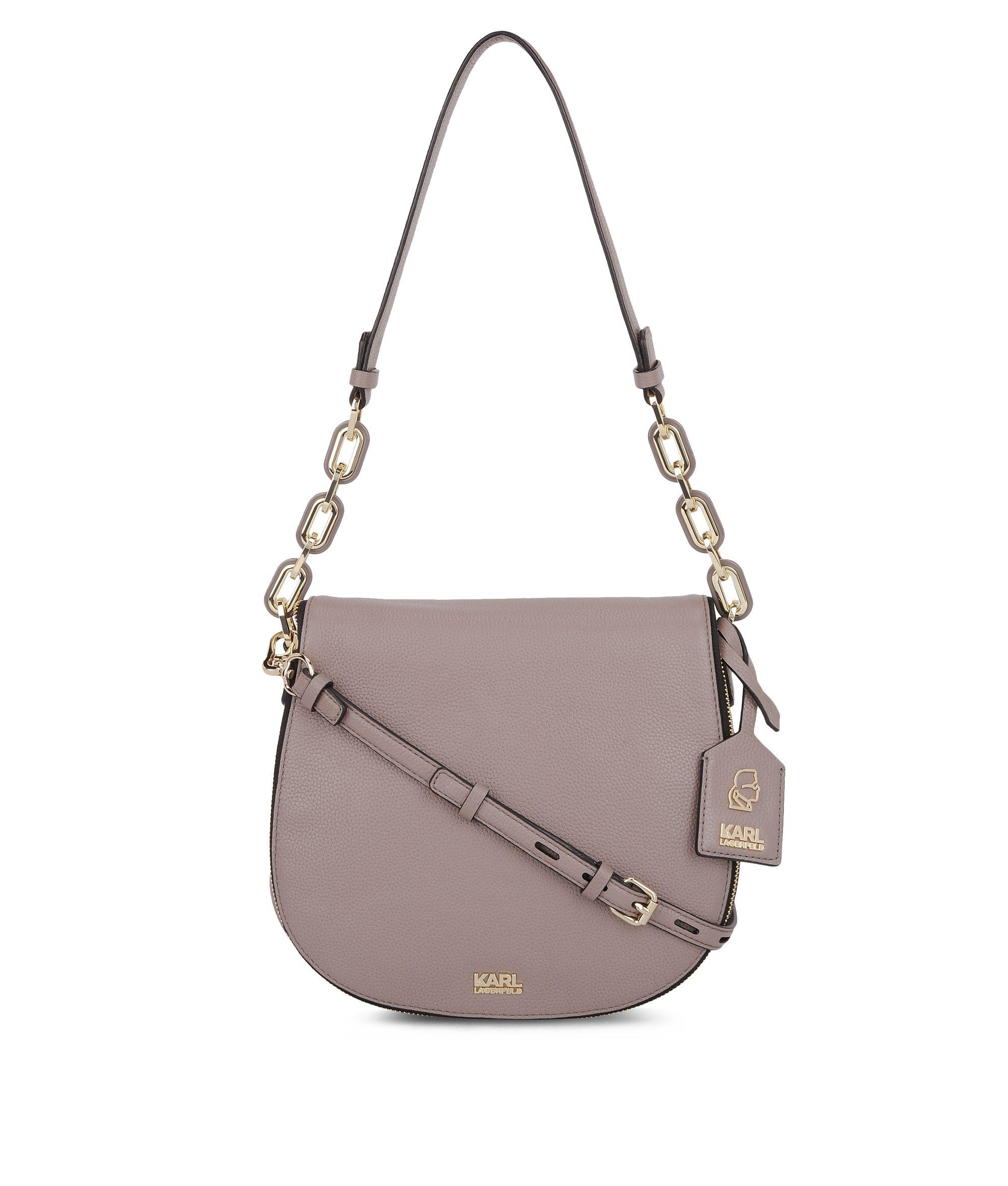 K Grainy Satchel Brown 66KW3036 Karl Lagerfeld accessories: Uvod u uzbudljivu XYZ modnu jesen