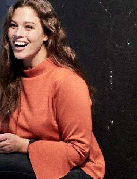 "Ekskluzivni intervju: Ešli Grejem, ""plus size"" model i lice nove Lindex kampanje"