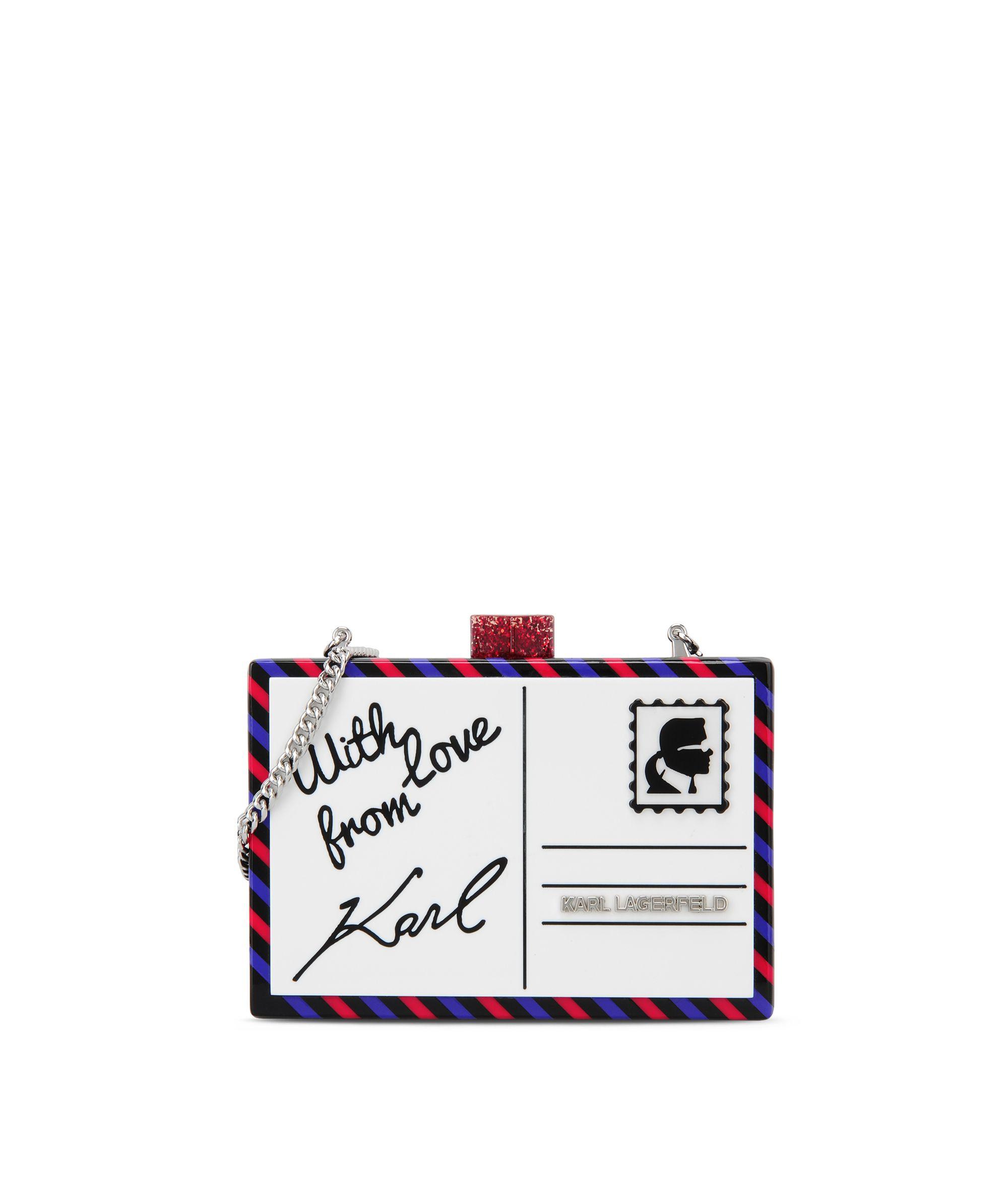 Postcard Minaudiere 66KW3076 Karl Lagerfeld accessories: Uvod u uzbudljivu XYZ modnu jesen