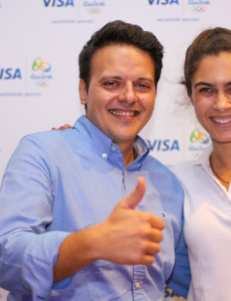 Visa i Milica Mandić svečano proslavili završetak Rio 2016 Olimpijske kampanje