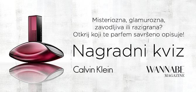 Wannabe Calvin Klein Kviz W670 1 Misteriozna, glamurozna, zavodljiva ili razigrana? Otkrij koji te parfem savršeno opisuje!