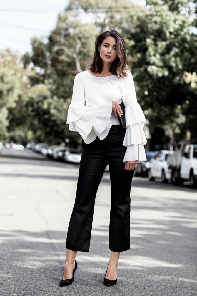 bela bluza Autfit koji će naredne sezone nositi SVAKA devojka