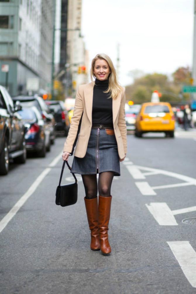 dzins 1 Trendi načini kako da nosiš džins sa visokim strukom