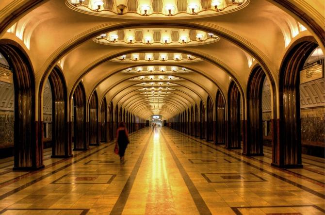 moscow metro U ruskom stilu: 9 najpoznatijih atrakcija Moskve