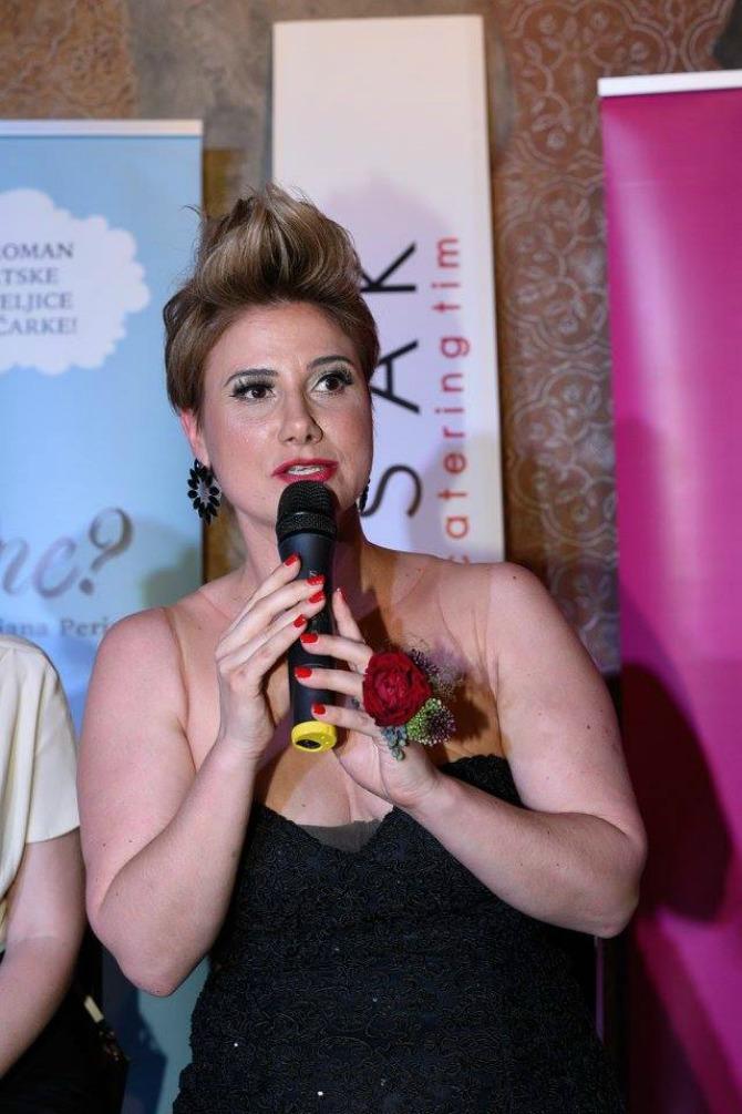 na promociji jesi on line Intervju: Marijana Perinić, pisac, komičarka i voditelj