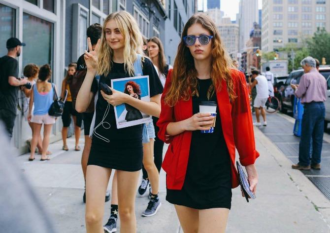 street style 9 Nedelja mode u Njujorku: Najbolja Street Style izdanja za proleće 2017.