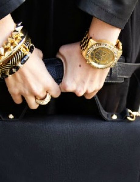 "Aksesoari u boji zlata kao ""must have"" za trendi autfit"