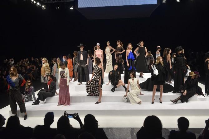 DJT3559 Retrospektivnom revijom otvoren jubilarni 40. Belgrade Fashion Week