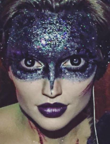 Makeup ideje za Halloween: Glamurozna veštica