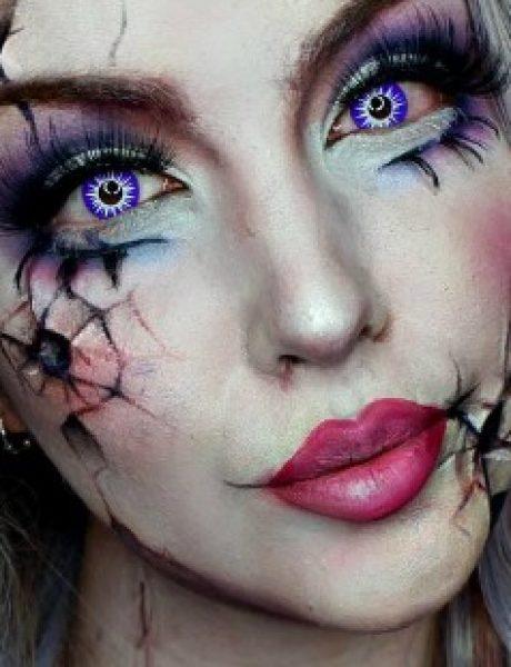 Maska u zadnji čas: Makup tutorijali za Noć veštica