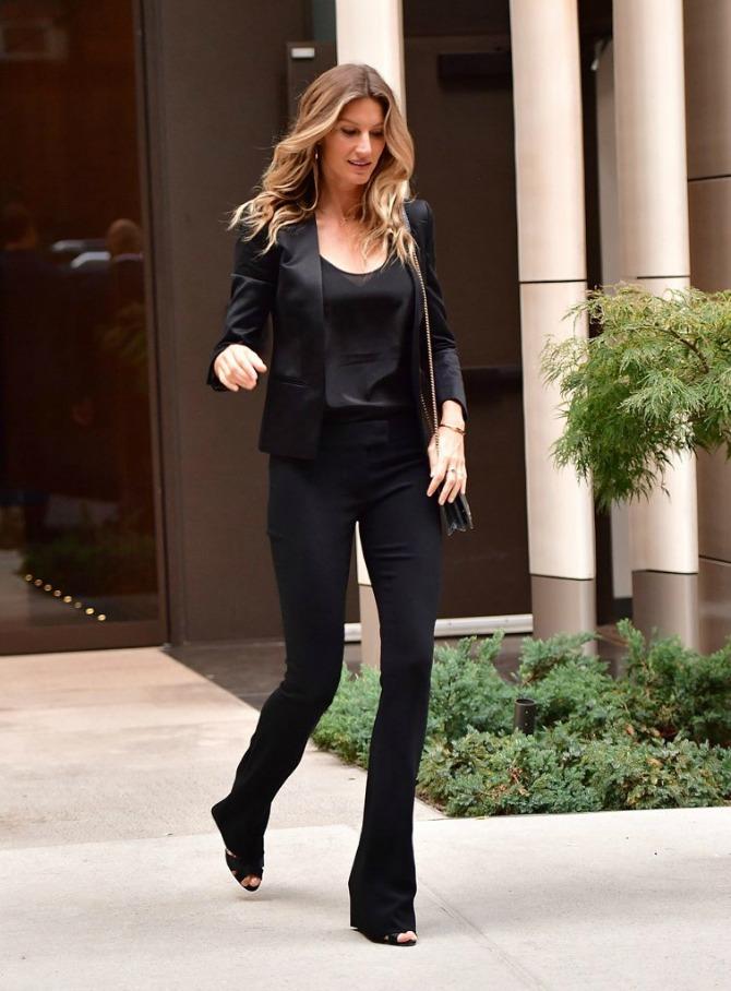 Trend koji vole i poznate manekenke2 All in Black: Trend koji vole i poznate manekenke