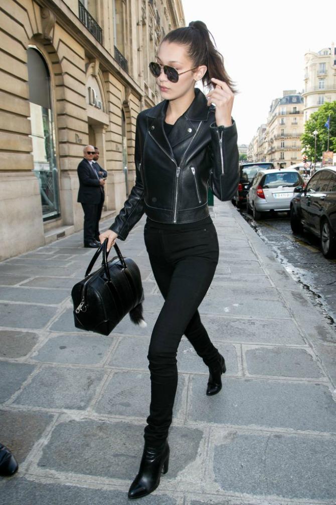 Trend koji vole i poznate manekenke3 All in Black: Trend koji vole i poznate manekenke