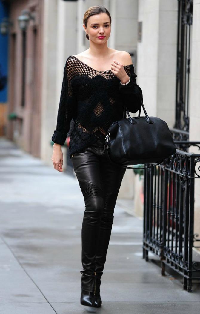 Trend koji vole i poznate manekenke9 All in Black: Trend koji vole i poznate manekenke