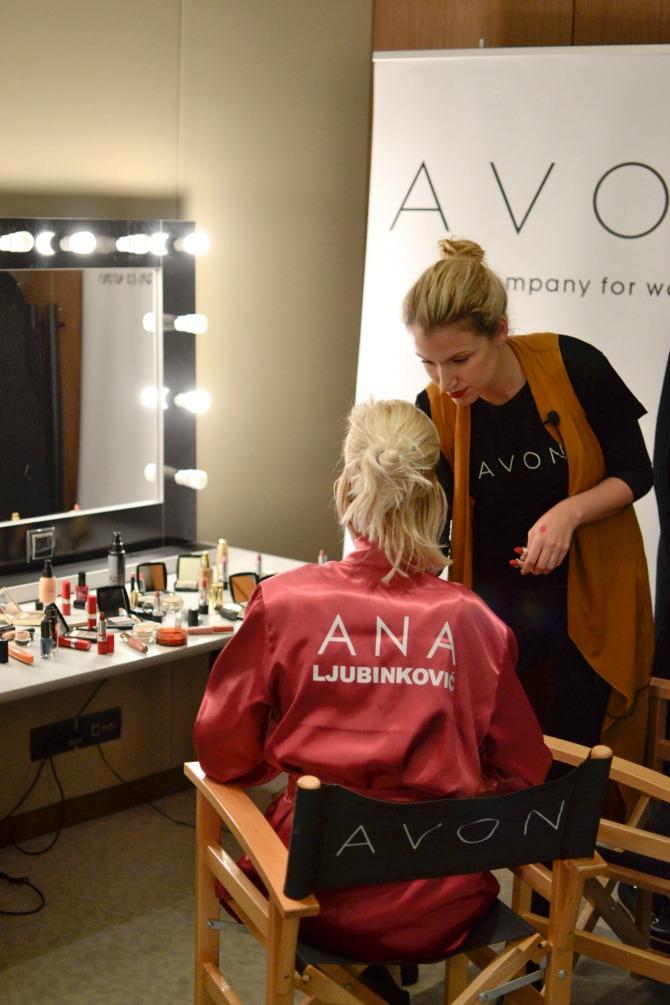 avon i ana ljubinkovic 3 Poslastica za ljubitelje mode i šminke: Nova saradnja Ane Ljubinković i kompanije Avon