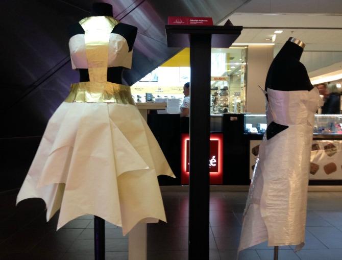 dress me up by paper 2 Modna kolekcija inspirisana papirom