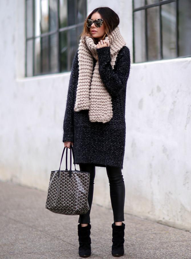 dzemper haljina 1 Kako da nosiš džemper haljine