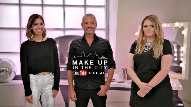 make up in the city 1 Maybelline New York predstavlja YouTube serijal Make Up In The City