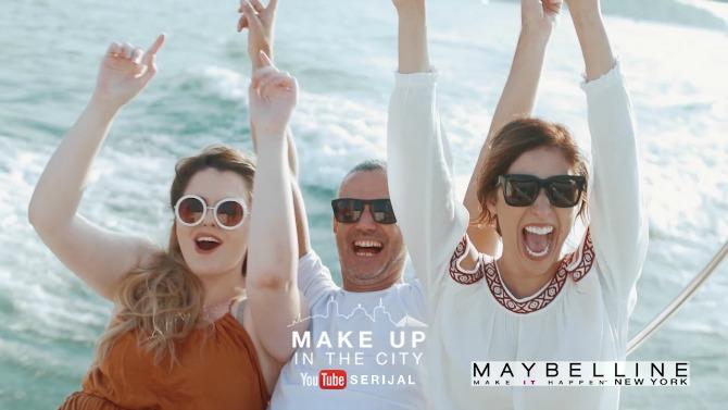 make up in the city 2 Maybelline New York predstavlja YouTube serijal Make Up In The City