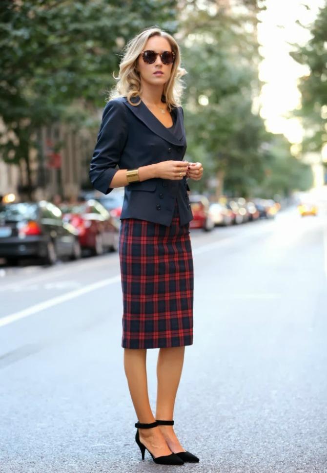 poslovni look 5 načina kako da nosiš pencil suknju