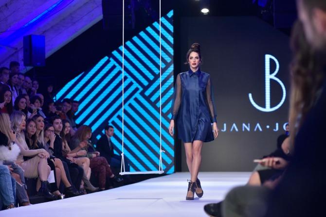 prva revija bojane jovetic 2 Bojana Jovetić prikazala svoju prvu kolekciju