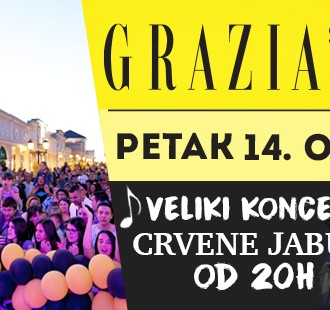 Petak baš kakav treba da bude: Grazia Shopping Night u Fashion Parku!