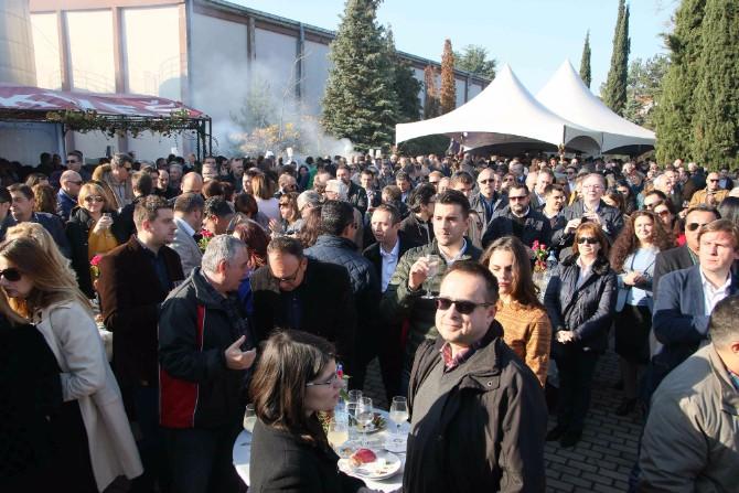 Atmosfera a Sedmi Festival mladog vina Tikveš vinarije u sunčanim Kavadarcima