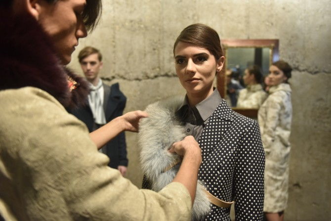 DJT9741 Modne vinjete na Belgrade Fashion Week u