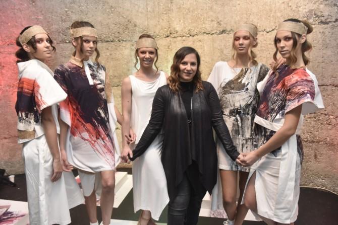 DJT9955 Modne vinjete na Belgrade Fashion Week u