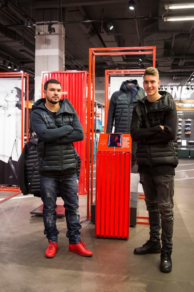 Fudbaleri Partizana Svečano predstavljena ekskluzivna Nike Sportswear Aeroloft kolekcija