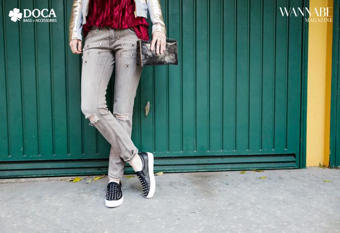 Modni predlog DOCA Glam Rock stil na tvoj način 2 Modni predlog DOCA: Glam Rock stil na tvoj način