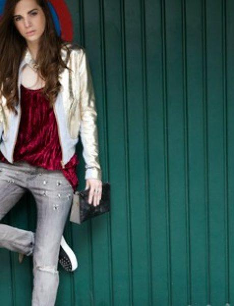 Modni predlog DOCA: Glam Rock stil na tvoj način