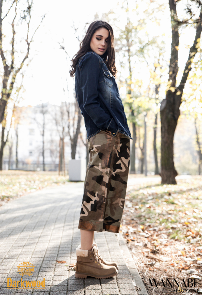 Modni predlog Darkwood Urbane devojke biraju Military stil Modni predlog Darkwood: Urbane devojke biraju Military stil