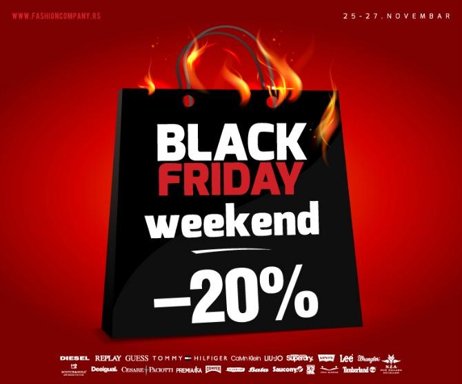 WANNABE FB Black Friday weekend u Fashion Company u