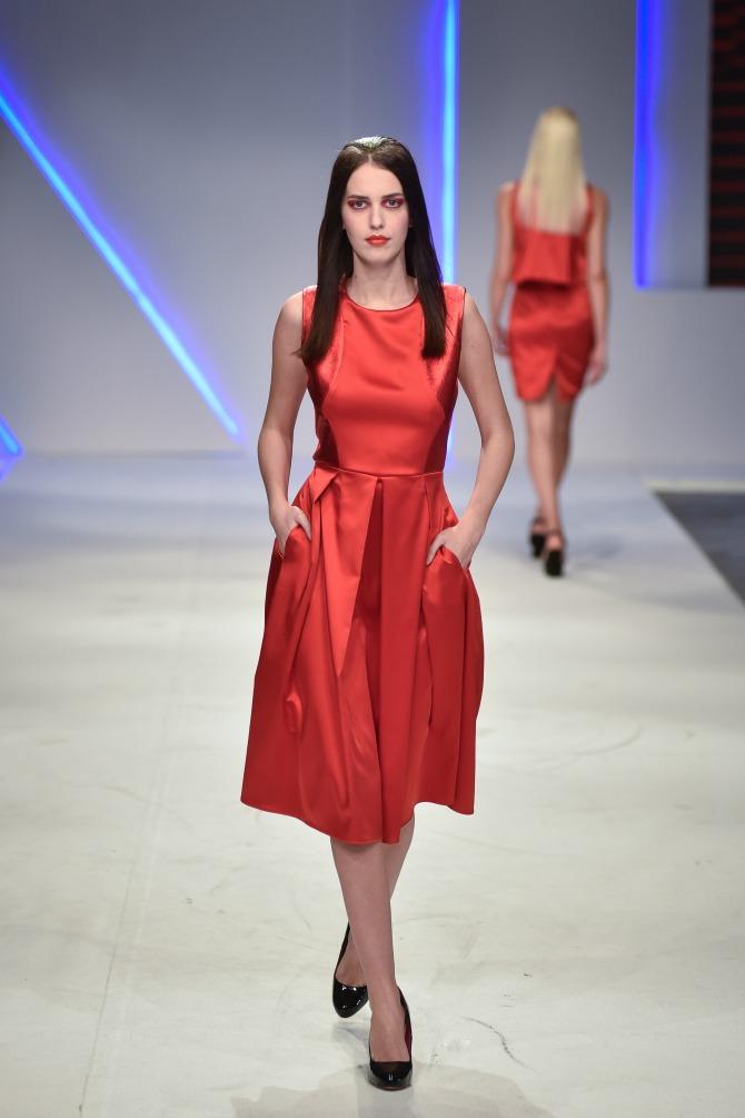 bojana jovanovic 2 Izuzetno treće veče 40. Belgrade Fashion Week a