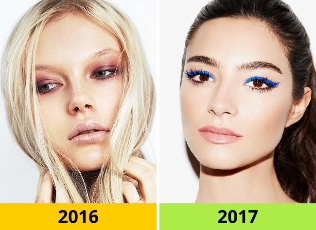 boje1 10 beauty trendova kojima ćemo reći zbogom u 2017.