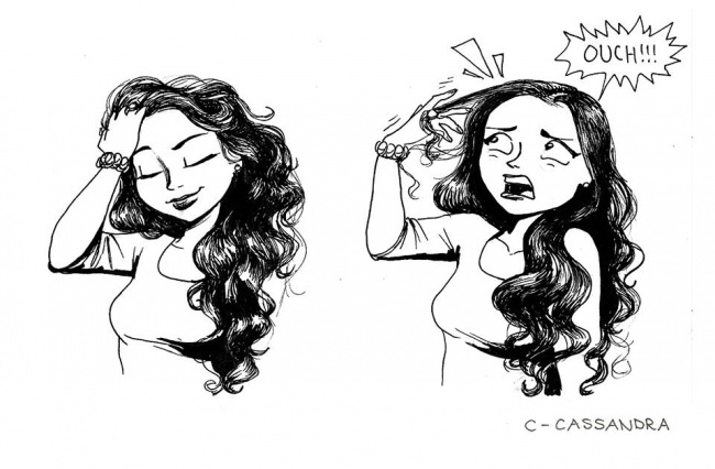kosa 2 Imaš dugu kosu? Onda će te ove ilustracije nasmejati do suza!