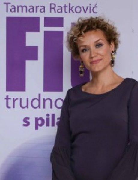 """Tamara Ratković, autorka knjige """"Fit u trudnoći s pilatesom"""""""