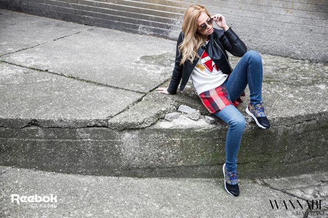 reebok modni predlog 4 2 Modni predlog: Reebok Classic Furylite za devojke sa stavom