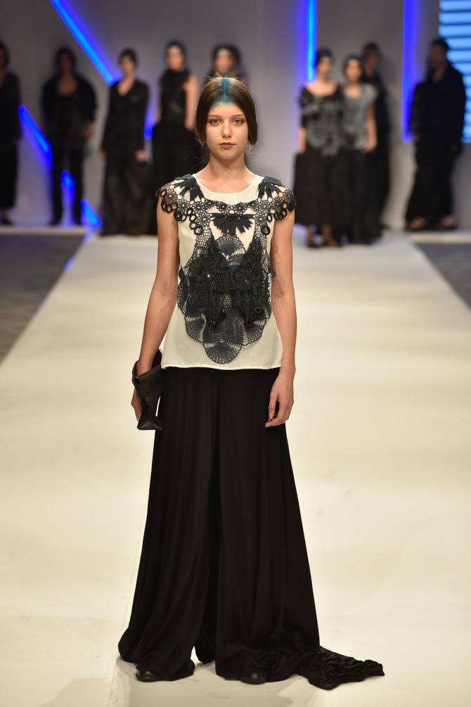 sonja krstic 4 Izuzetno treće veče 40. Belgrade Fashion Week a
