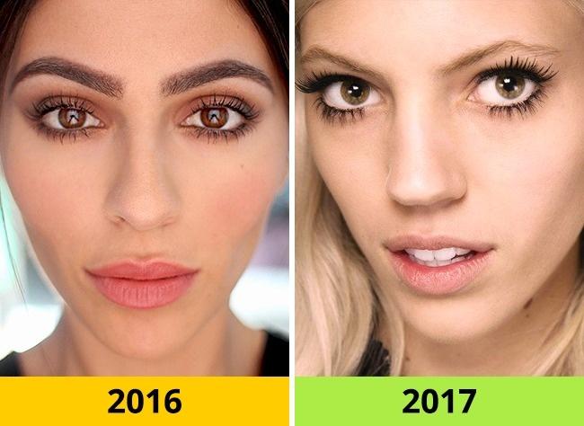 trepavice 10 beauty trendova kojima ćemo reći zbogom u 2017.