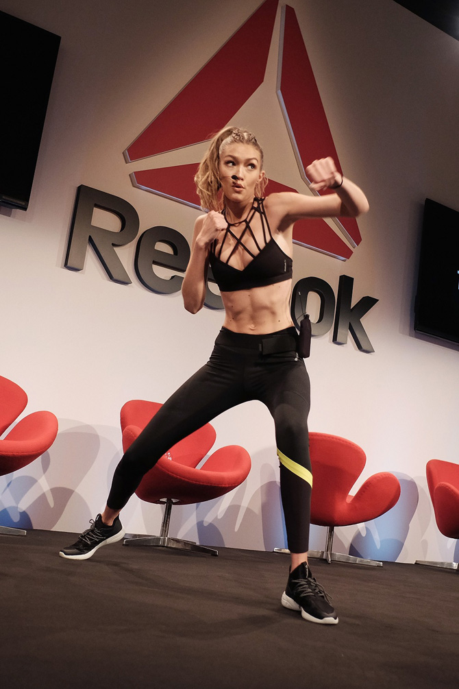 Gigi Hadid PerfectNever Panel 5 Reebok i Gigi Hadid priredili #perfectnever revoluciju