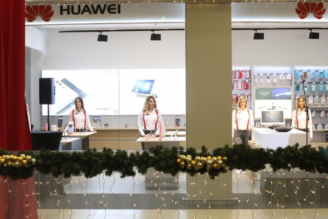 Huawei Experience Store Zavirite u futurističku Huawei oazu